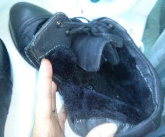 Ботинки зимние с мехом. Фото 2.