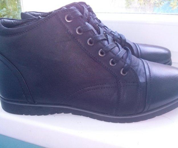 Ботинки зимние с мехом. Фото 3.