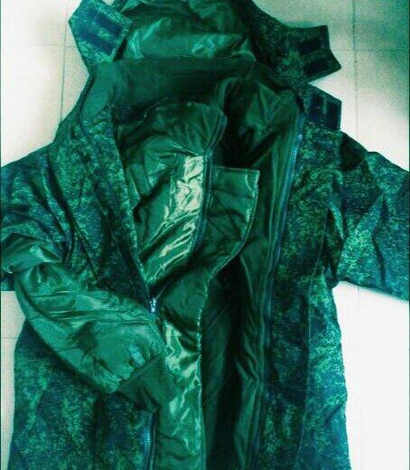 Костюм. бушлат  и штаны теплые. военное.  новое. Фото 1. Москва.
