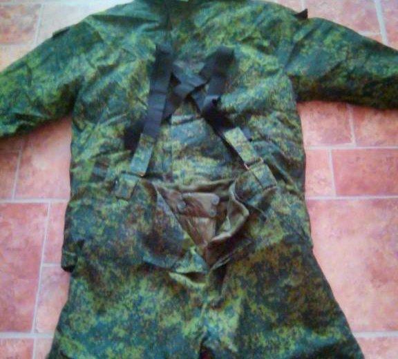 Костюм. бушлат  и штаны теплые. военное.  новое. Фото 4. Москва.