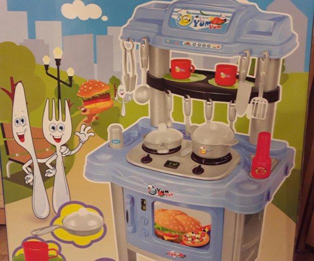 Игрушечная детская кухня свет и звук. Фото 2. Москва.