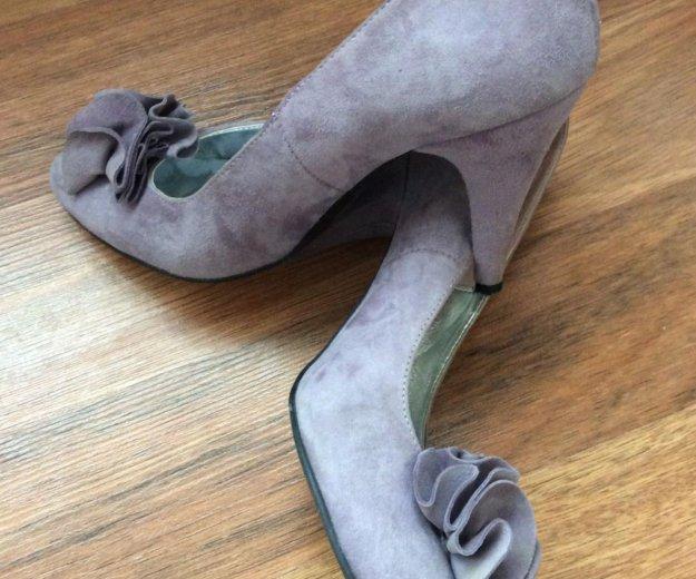 Туфли замша 37. Фото 1. Железнодорожный.