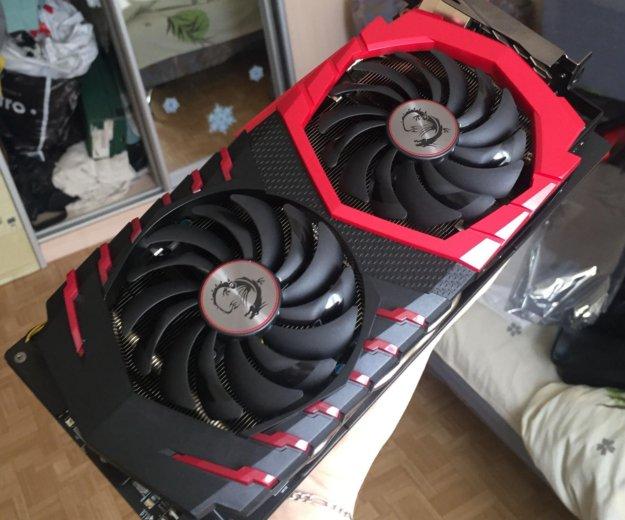Msi gtx 1060 gaming x 6gb. Фото 2.