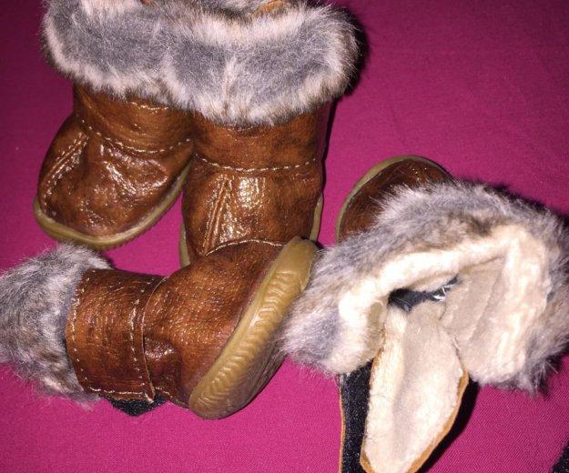 Тёплые ботиночки. Фото 3. Москва.