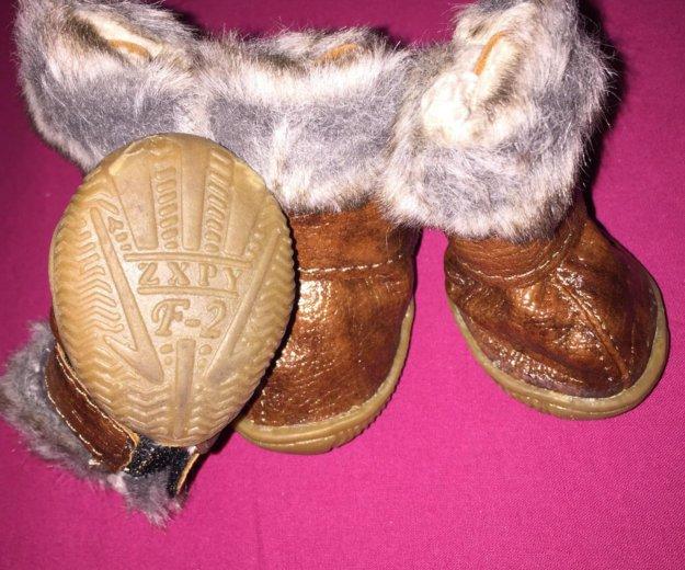 Тёплые ботиночки. Фото 2. Москва.