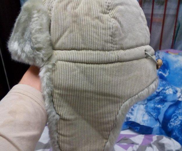 Новая зимняя шапка 54р. Фото 2. Зеленоград.