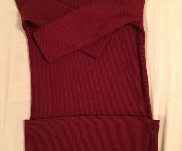 Платье-лапша(водолазка)страдивариус.новое. Фото 3.