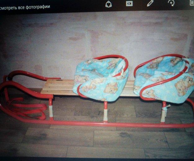 Санки для двойни tako+сидушки. Фото 1. Москва.