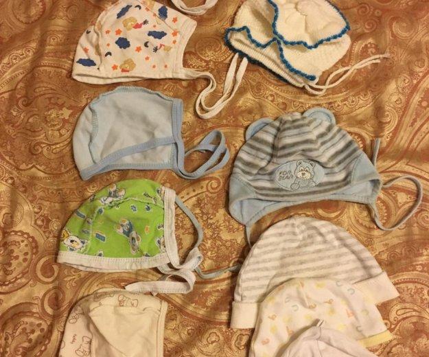 Вещи на новорожденного шапочка шапка 0 - 3 месяца. Фото 1. Москва.