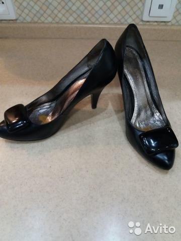 Кожаные женские туфельки. Фото 1. Краснодар.