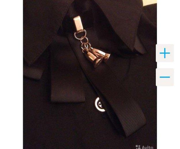 Чёрная новая рубашка с рукавом. Фото 4. Краснодар.