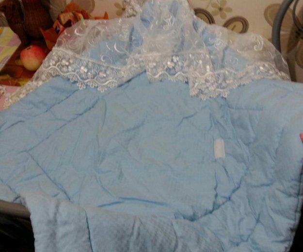 Конверт с одеялом на выписку. Фото 3. Александров.