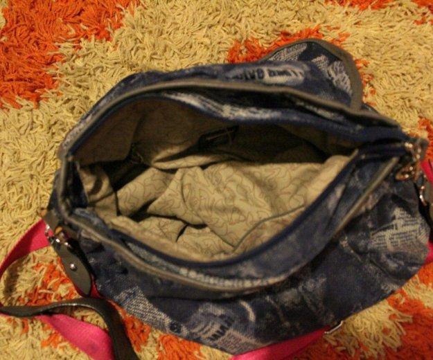 Джинсовая сумка. Фото 1. Горбунки.