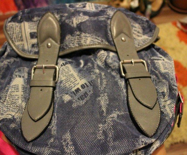 Джинсовая сумка. Фото 3. Горбунки.