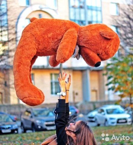 Плюшевый мишка boyds 140 см. Фото 4. Москва.