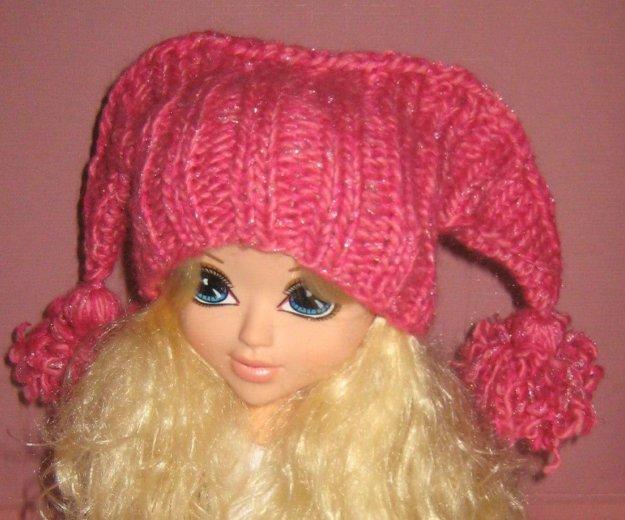 Новая шапка теплая, прикольная. Фото 1.
