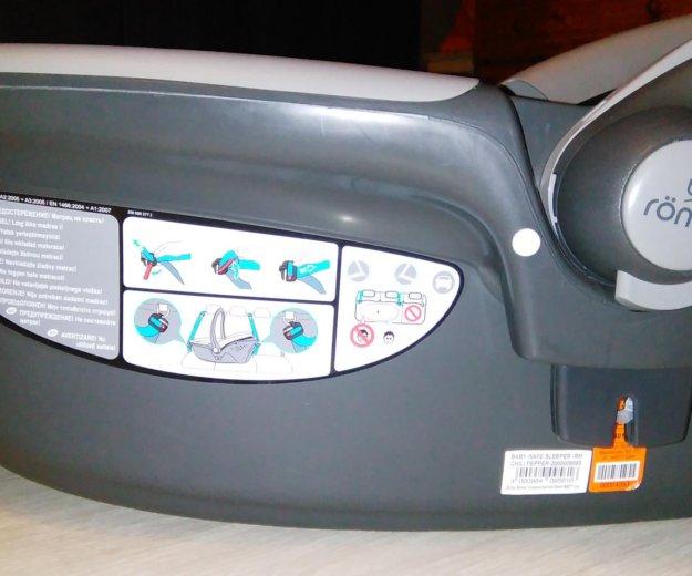 Britax romer baby safe sleeper автолюлька. Фото 4. Мытищи.