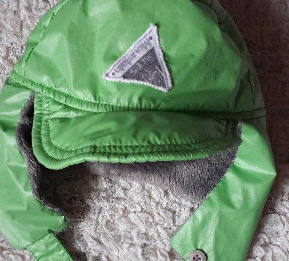 Теплая шапка-ушанка no-no club (53). Фото 1.