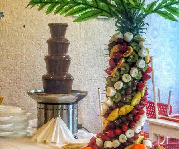 Шоколадный фонтан. Фото 1. Москва.