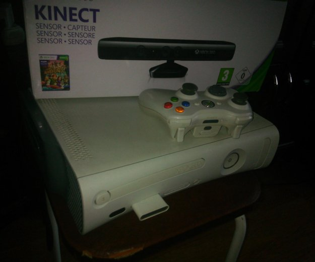 Xbox 360 +kinect+80  игр. Фото 1. Авсюнино.