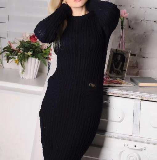 Красивое очень теплое платье. новое. Фото 1. Владимир.