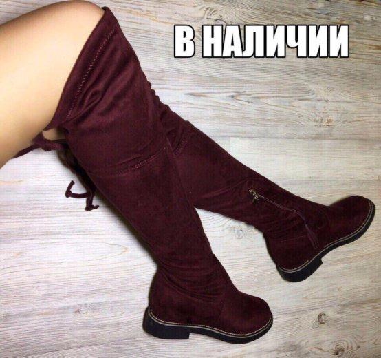Новые ботфорты. Фото 1.