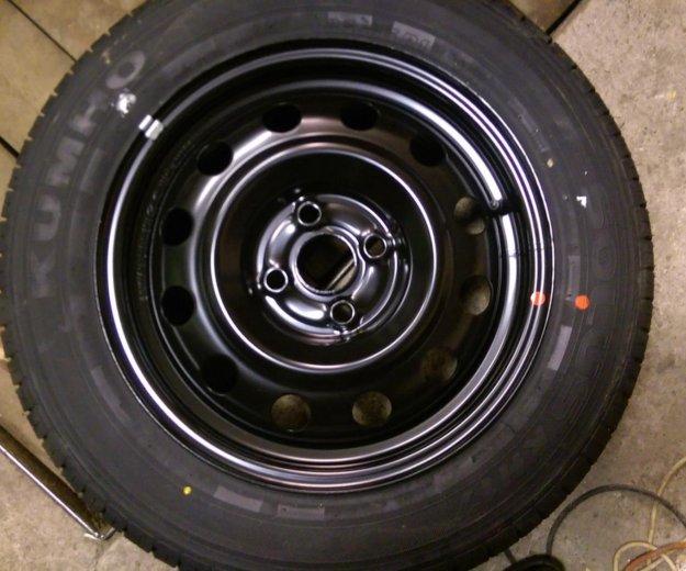 Запасное колесо кумхо kh17кия рио хендай солярис. Фото 4. Москва.