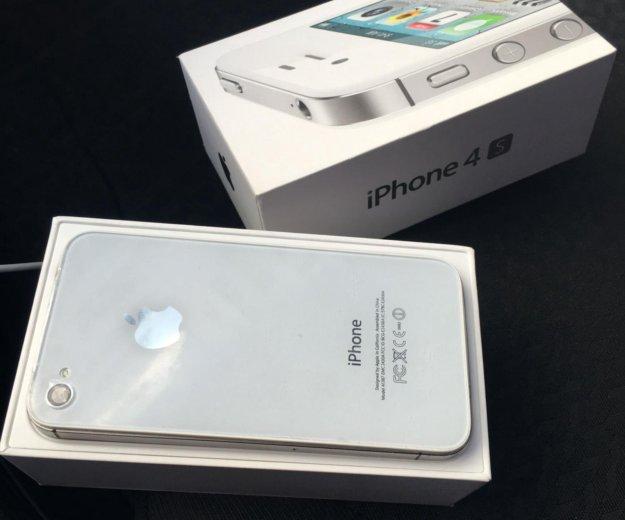 Iphone 4s 16gb. Фото 2. Красненькая.