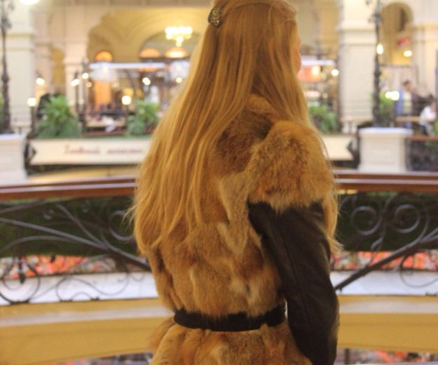 Жилетка из кролика. Фото 1. Москва.