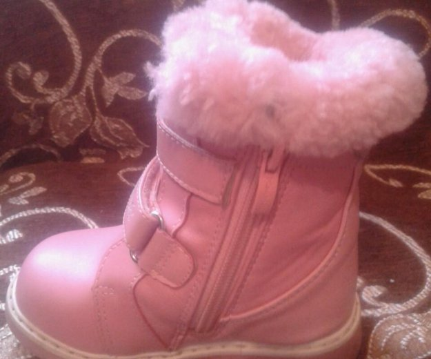 Зимние ботинки. Фото 1.
