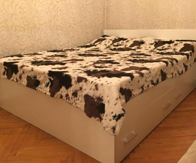 Кровать аделия с ящиками(белая). Фото 1. Москва.