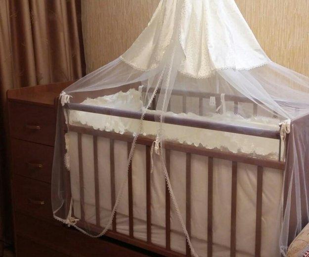 Кроватка для маленькой принцессы. Фото 3. Смоленск.