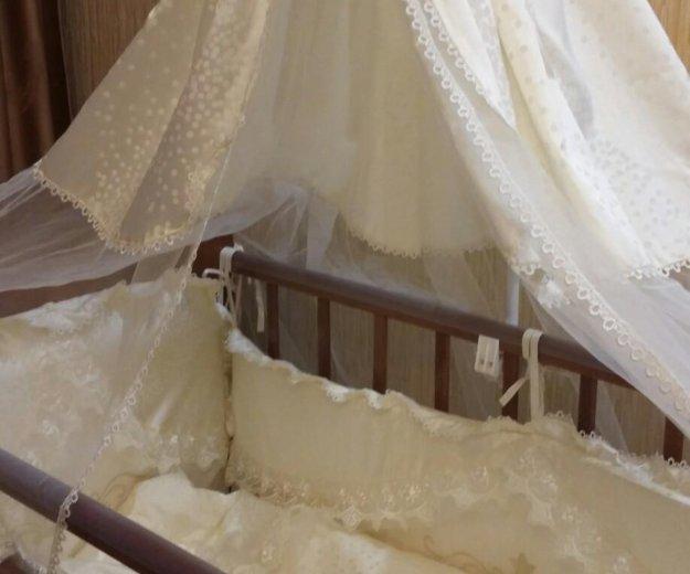 Кроватка для маленькой принцессы. Фото 2. Смоленск.