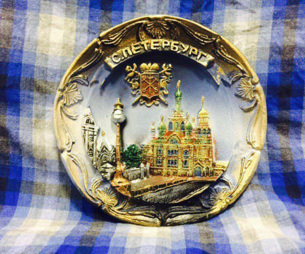 Тарелка сувенирная. Фото 1. Санкт-Петербург.