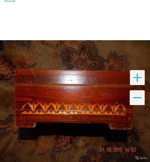 Резная деревянная шкатулка. Фото 2. Санкт-Петербург.