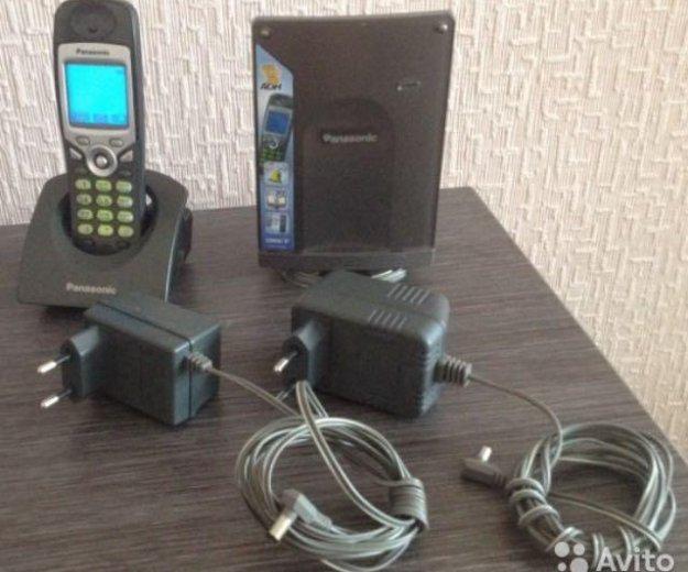 Продам радиотелефон panasonic kx-tcd556. Фото 1. Челябинск.
