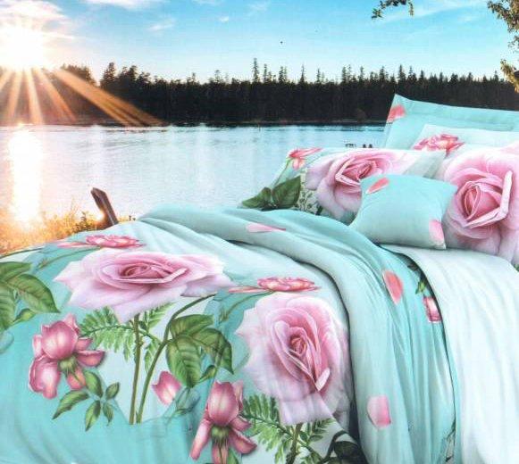 2-спальный кпб с европростыней+беспл.доставка. Фото 1. Пермь.