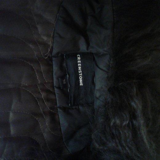 Пальто зимнее,мех натуральный. Фото 1.