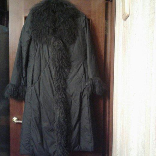 Пальто зимнее,мех натуральный. Фото 2.