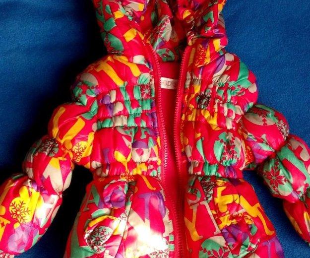 Куртка для девочки б/у. Фото 1. Московский.