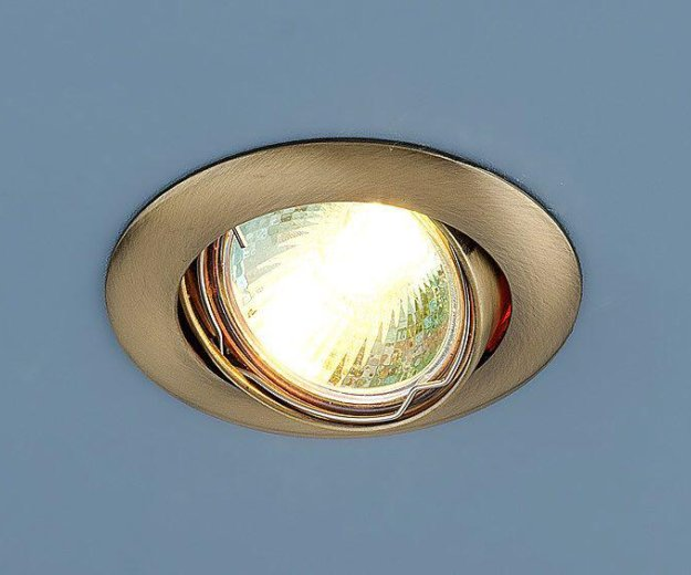 Точечный светильник. Фото 4. Москва.