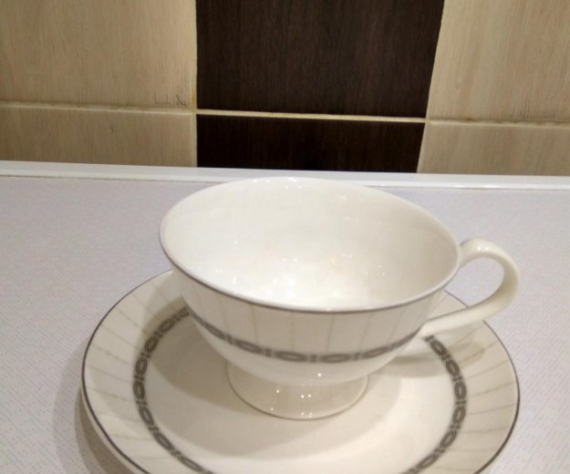 Фарфоровый чайный сервиз из 15 предметов. Фото 4. Москва.