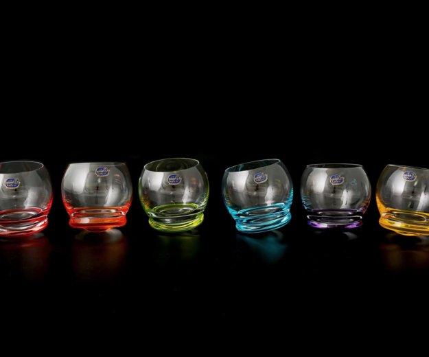 Набор стаканов для воды 390 мл crazy (6 шт) криста. Фото 1. Москва.
