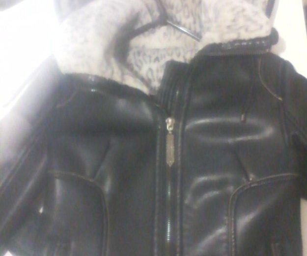 Куртка теплая размер где то 42. Фото 1.