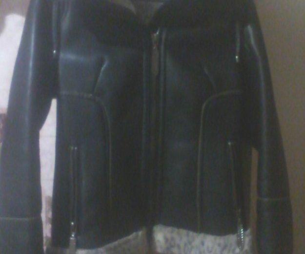 Куртка теплая размер где то 42. Фото 2.