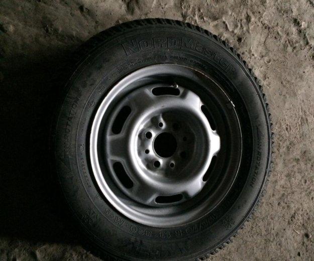 Зимнее колесо. Фото 1. Тюмень.