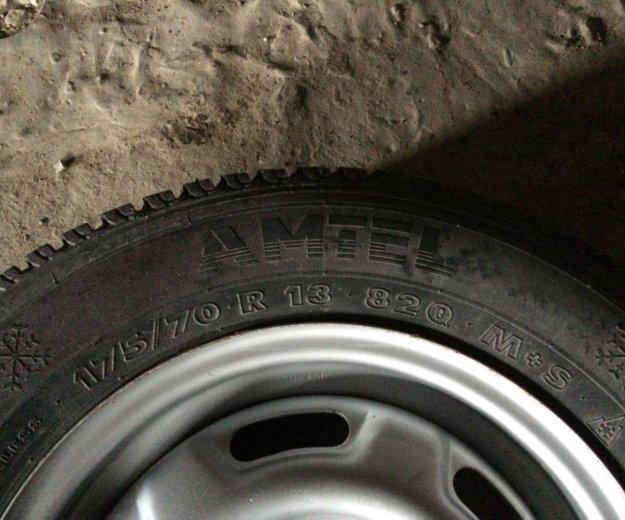 Зимнее колесо. Фото 3. Тюмень.