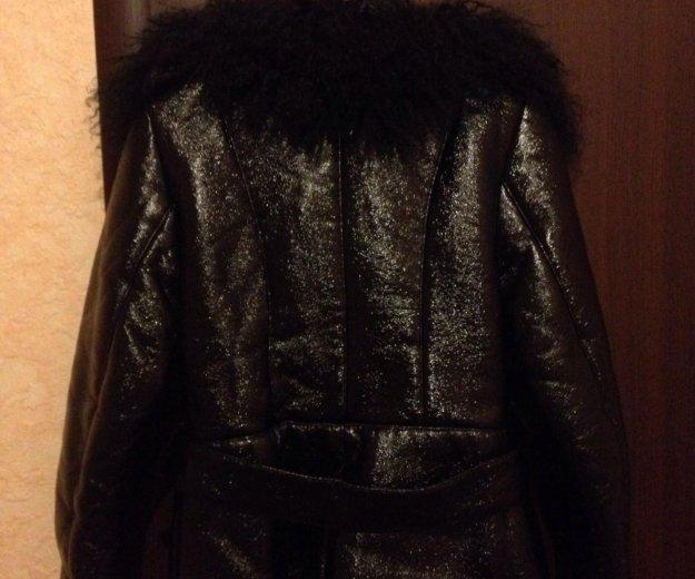 Куртка р. s/m (эко-кожа) (внутри мех) торг, пишите. Фото 4.