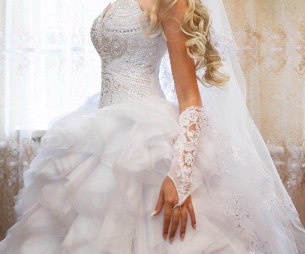 Свадебное платье. Фото 1. Октябрьский.