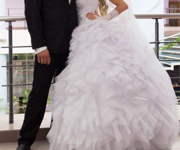Свадебное платье. Фото 4. Октябрьский.